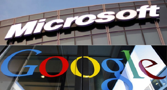 Google and Microsoft agree to lawsuit truce