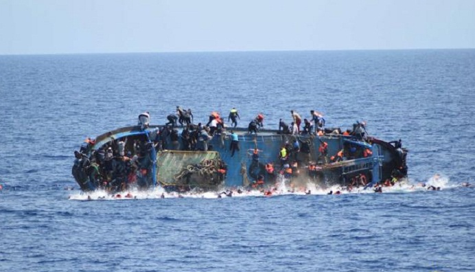 45 illegal immigrants rescued off western Libyan coast