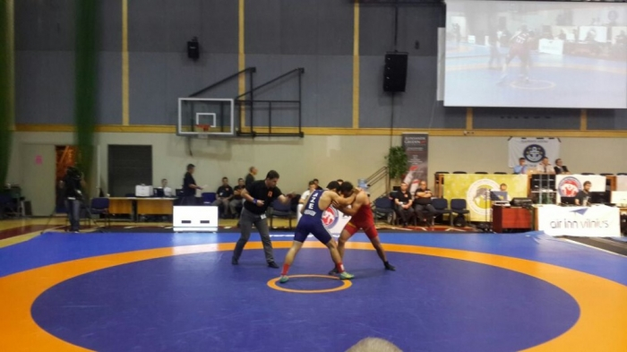 Azerbaijani wrestlers win three medals on fourth day of World Military Championships