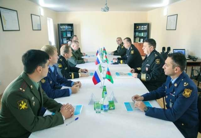 Azerbaijani, Russian military topography experts meet in Baku