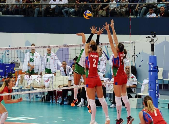 Championnat d'Europe : les volleyeuses azerbaïdjanaises ont battu les Hongroises
