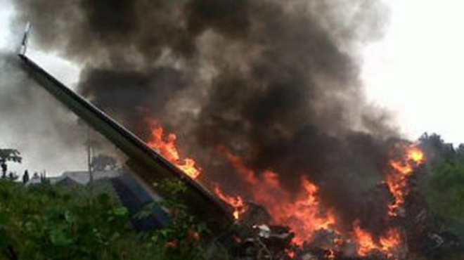 Air crash in Colombian capital residential area kills four, injures seven