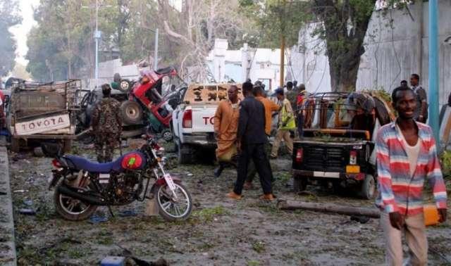 Bombs kill at least 17 people in Somali capital Mogadishu
