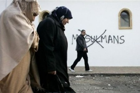 Fransada islamofobiya halları artıb - FOTO