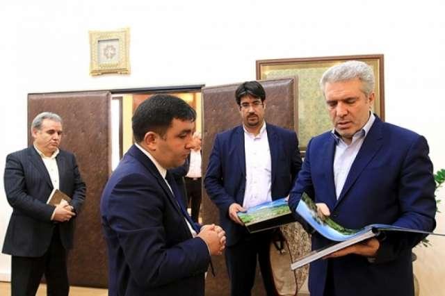 Vice-President Mounesan hails Iran-Azerbaijan relations