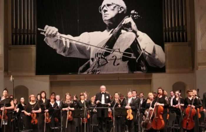 Baku wird Gastgeber des IX. Internationalen Mstislaw Rostropowitsch Festivals sein