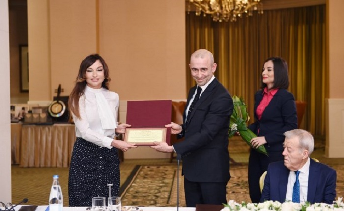"""Person of the Year"" award presented to Mehriban Aliyeva - PHOTOS"
