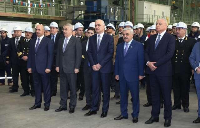 Construction of unique Ro-Pax ferries starts in Azerbaijan