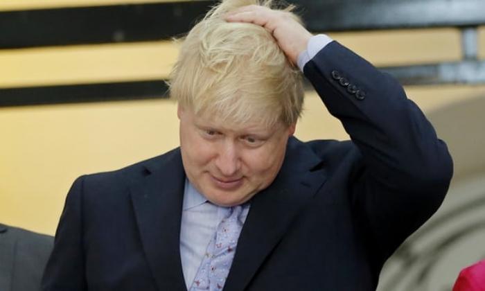 Boris Johnson caught on camera reciting Kipling in Myanmar temple