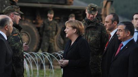 Angela Merkel Türkiyədə