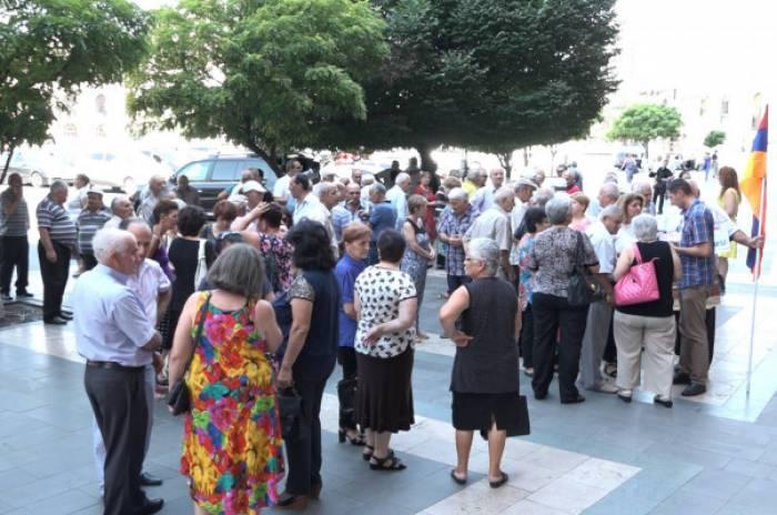 Les actions de protestation à Erevan  - VIDEO