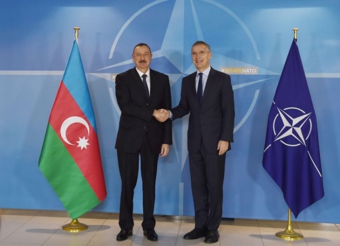 Azerbaijan is actively involved in peacekeeping operations in Afghanistan - Stoltenberg