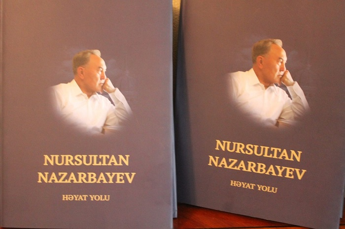 Azərbaycanda Nazarbayev haqqında kitab nəşr olunub