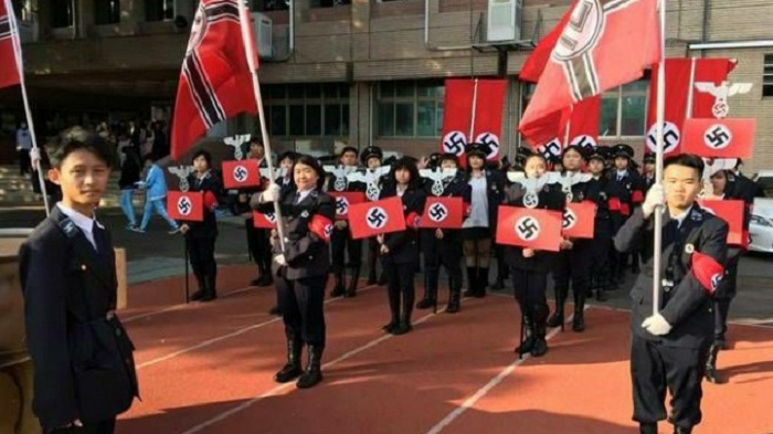 Principal of Taiwan school resigns over Nazi-themed parade