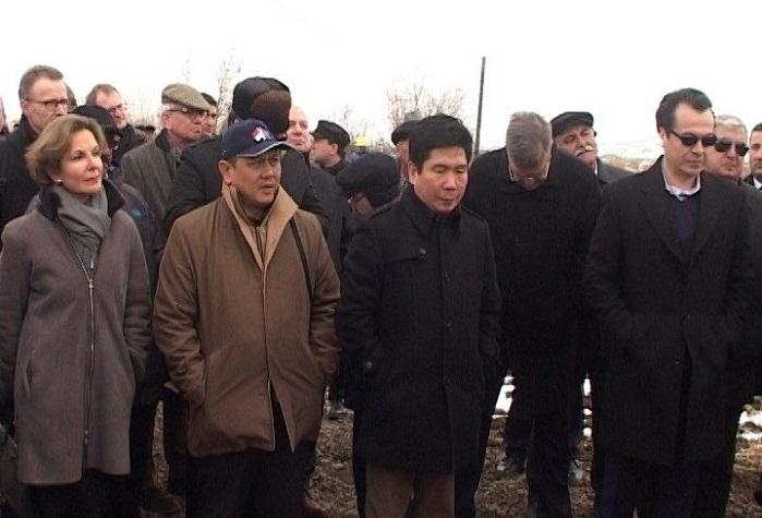 Foreign ambassadors, heads of int`l organizations visit Jojug Marjanli village