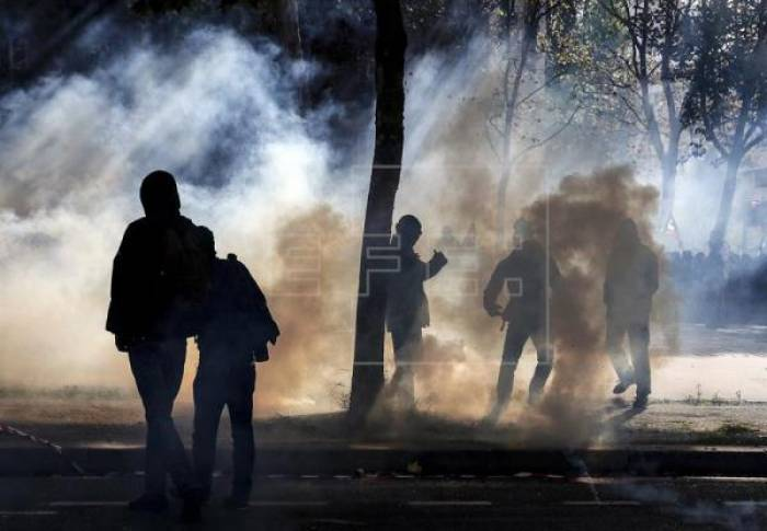 Nueva marcha contra la reforma laboral francesa el día de su entrada en vigor