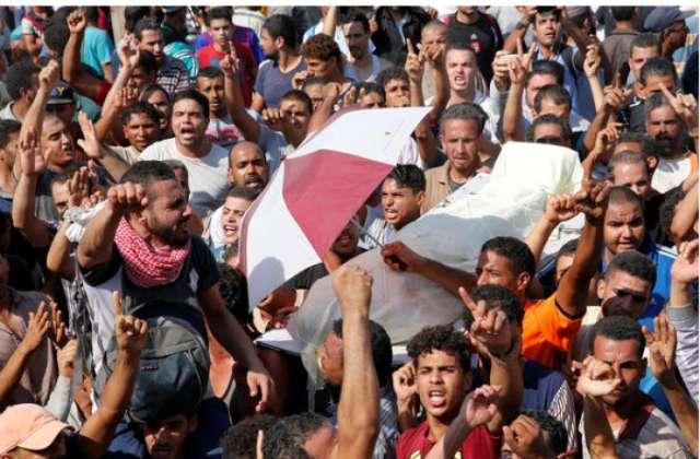 1 killed, dozens injured in clashes on Egypt's Nile island