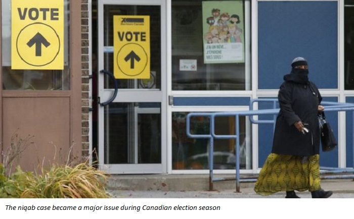 Liberal Canadian government drops niqab case appeal