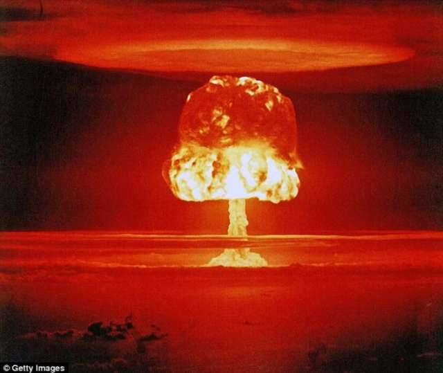 Nuclear warhead could trigger climate change