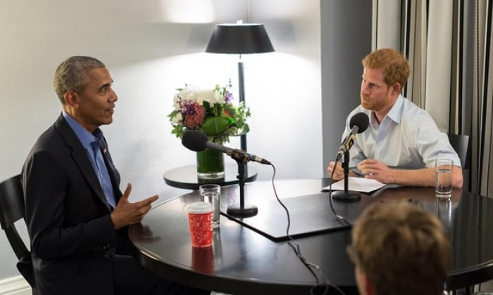 Barack Obama tells Prince Harry: leaders must stop corroding civil discourse