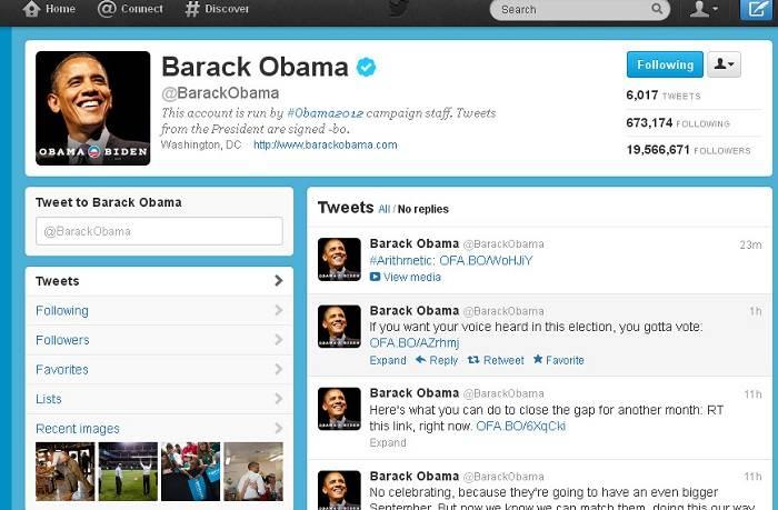 Obamanın tviti dünya rekordu qırdı