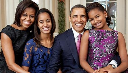 """""""Obamanın saçlarını qızları ağardıb"""""""