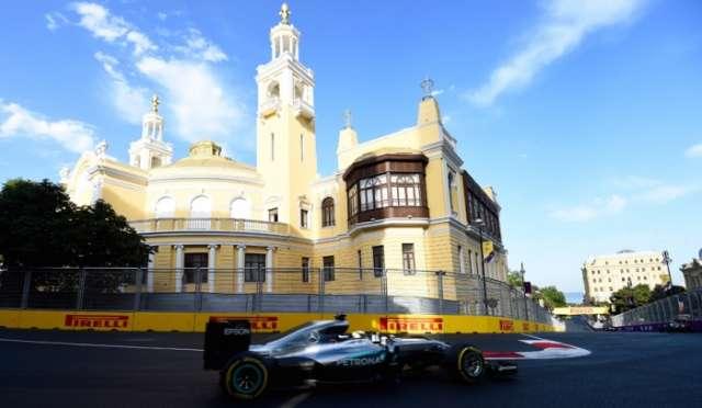 Off-Track Activities – Azerbaijan Grand Prix in Baku