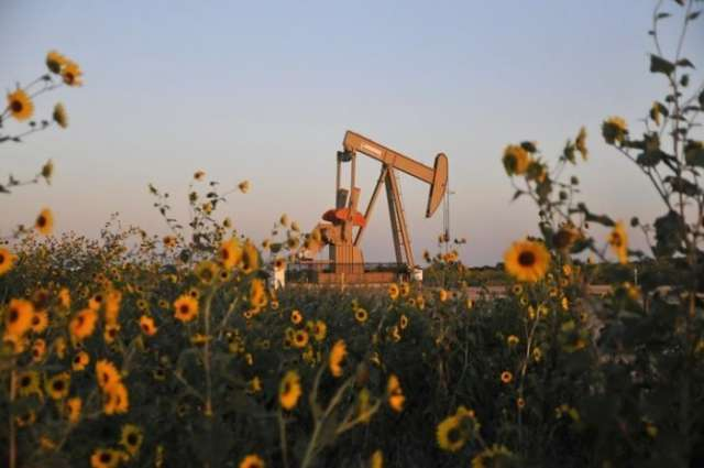 Oil stable on lower U.S. rig count, expectation of ongoing Saudi output restraint