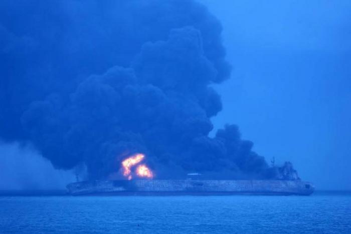 Stricken Iranian oil tanker drifts into Japan's economic zone: coast guard