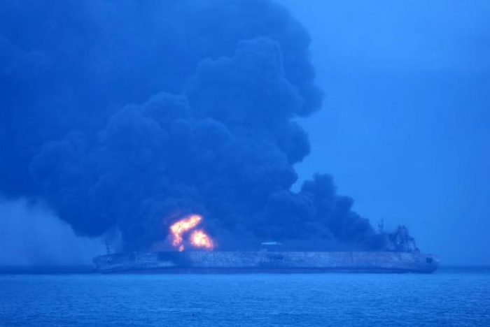 Three confirmed dead in Iran's fiery oil tanker crash