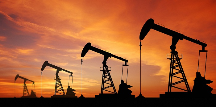 Oil prices edge down from near 2-1/2 year