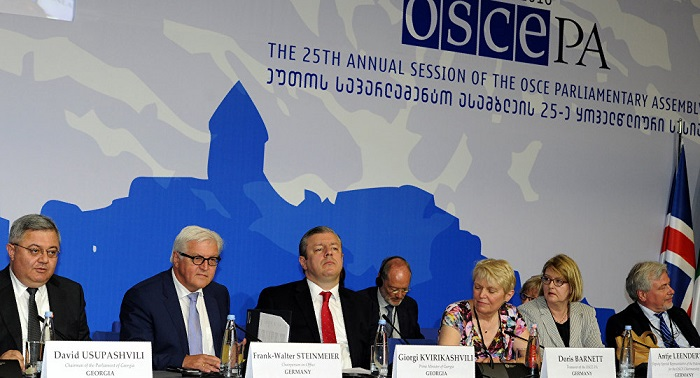 OSCE PA closes annual session in Georgia by adopting Tbilisi Declaration
