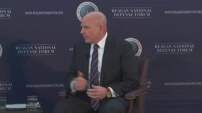 North Korea: US in race to address threat, says HR McMaster