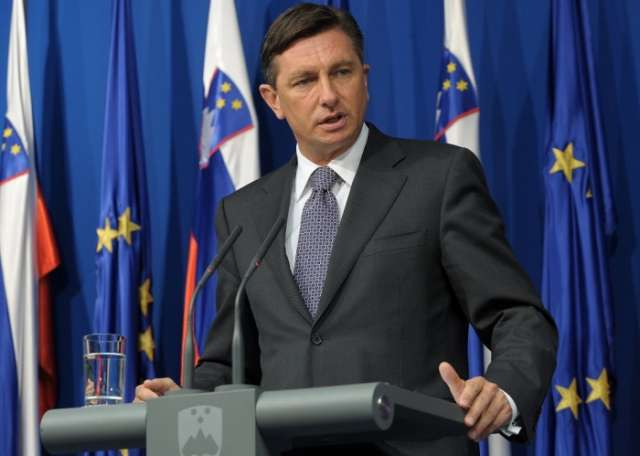 Slovenia's president wins second term in runoff election