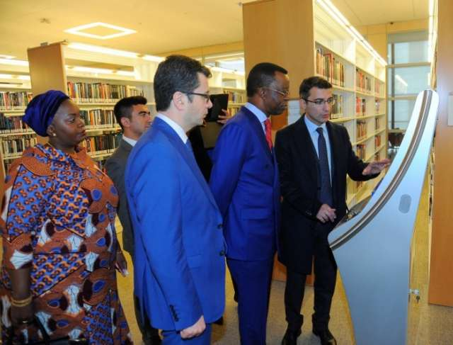 President of Pan African Parliament visits ADA University