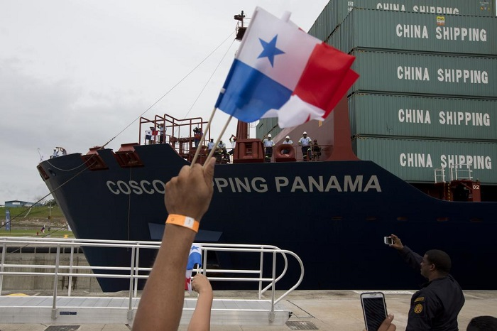 Panama canal doubles capacity with new $5 billion locks