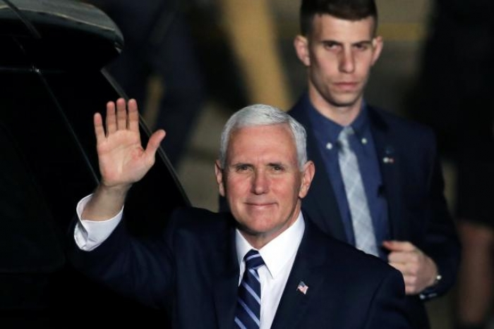 Pence arrives in Israel on visit overshadowed by Trump's Jerusalem declaration