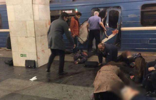 FSB Detains Brother of St. Petersburg Metro Attack Suspect