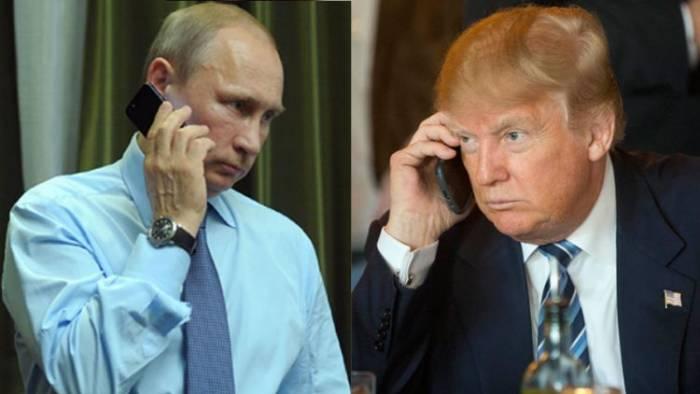 Putin Trampla İranı müzakirə edib