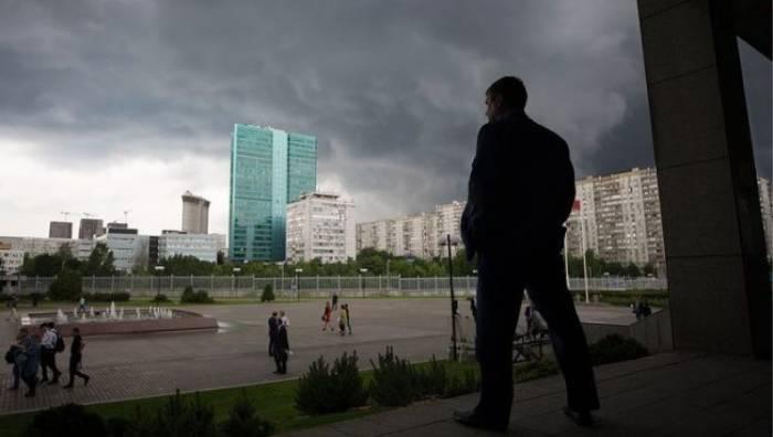"""Moskvada """"Sarı təhlükə səviyyəsi"""" elan edilib"""