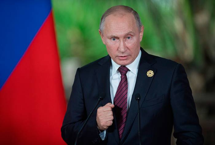 """""""Suriyanın müstəqilliyini qoruduq"""" - Putin"""