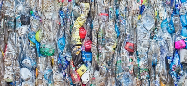 Huge amount of plastic waste is