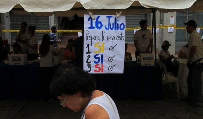 Casi 7,2 millones de venezolanos participan en el plebiscito de la oposición