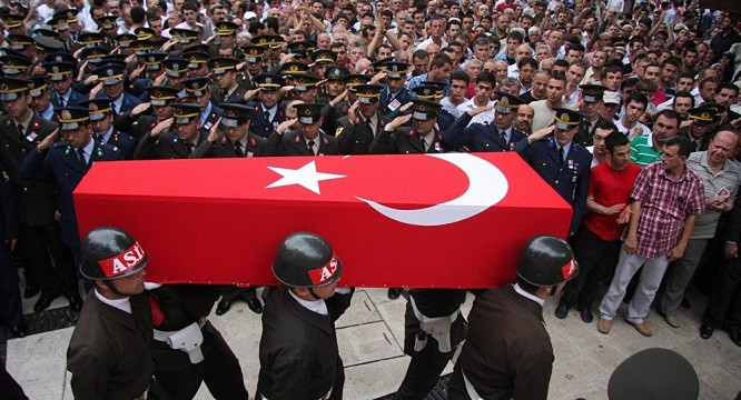 Türkiyənin 2 əsgəri şəhid olub, 5 hərbçi yaralanıb