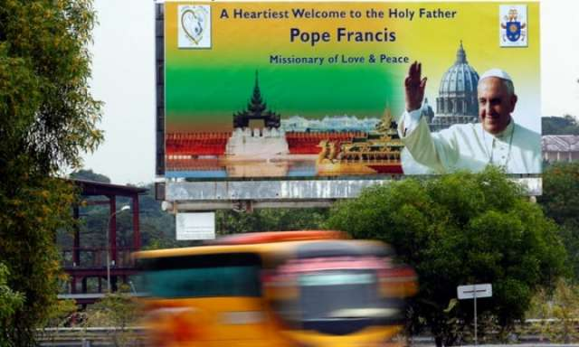 Pope's visit to Myanmar raises fears of violence if he mentions the Rohingya