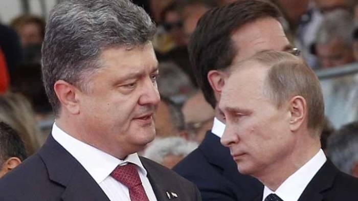 Putin və Poroşenko telefonla danışdı