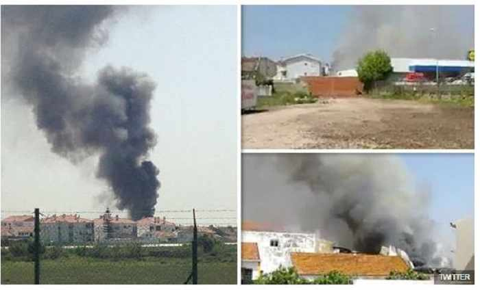Portugal plane crash: Five dead in Tires near Lisbon - VIDEO, UPDATED