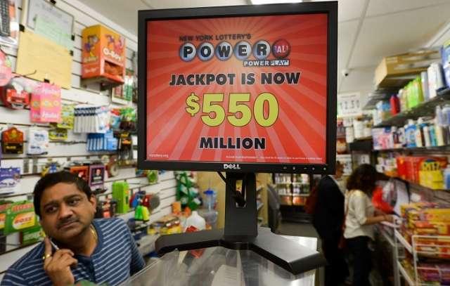US: Powerball jackpot reaches $535 million