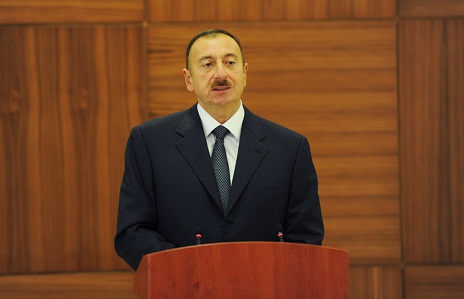 President Ilham Aliyev congratulates Islam Karimov on his reelection as Uzbekistan