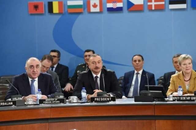 President Aliyev attends NATO North Atlantic Council meeting